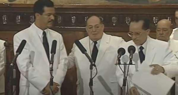 Discurso toma de posesión del Dr. Leonel Fernández el 16 de Agosto de 1996