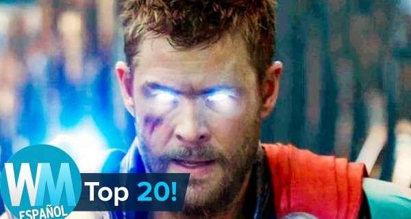 ¡Top 20 Escenas de Marvel más REVISITADAS!