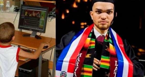 Dominicano oriundo de Tenares se gradúa de Harvard a los 20 años